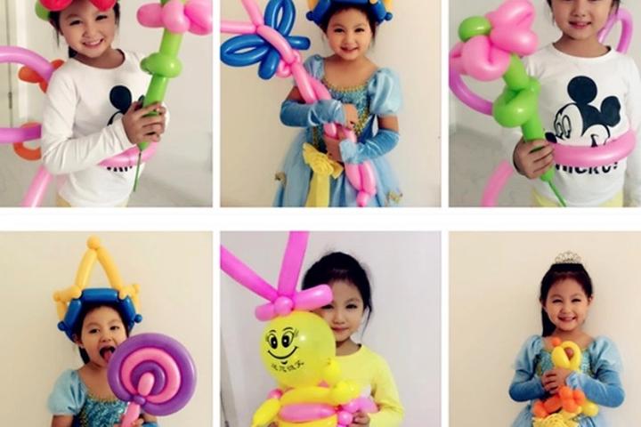 sculpture de ballons pour enfants anniversaire