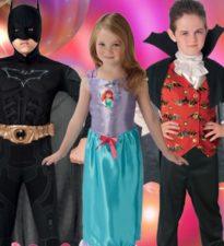 Anniversaire costume super héros pour enfants