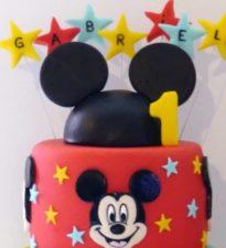 Gateau mickey gabriel anniversaire