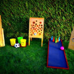 Ateliers jeux kermesse pour une fête avec des enfants