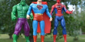 Anniversaire organisé Super Heros
