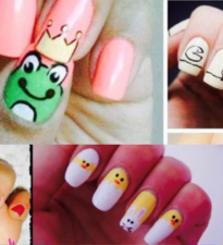 Nail Art enfants fillette