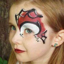Événement maquillage pour enfants personnalisé spiderman