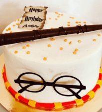 Gateau d'anniversaire personnalisé Happy potter