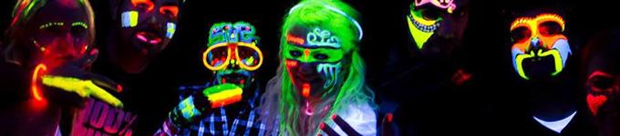 """Déroulement de l'anniversaire """"Fluo party"""" : 7-15 ans"""